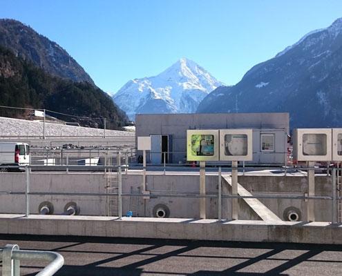 ABB Steuerung Für Den Gotthard Tunnel In Der Schweiz