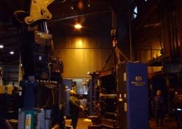 Maschinenübersiedlung / Anlagenübersiedlung Harris M1000