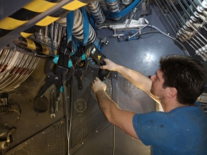 Transportband Service Lithoman Druckmaschine